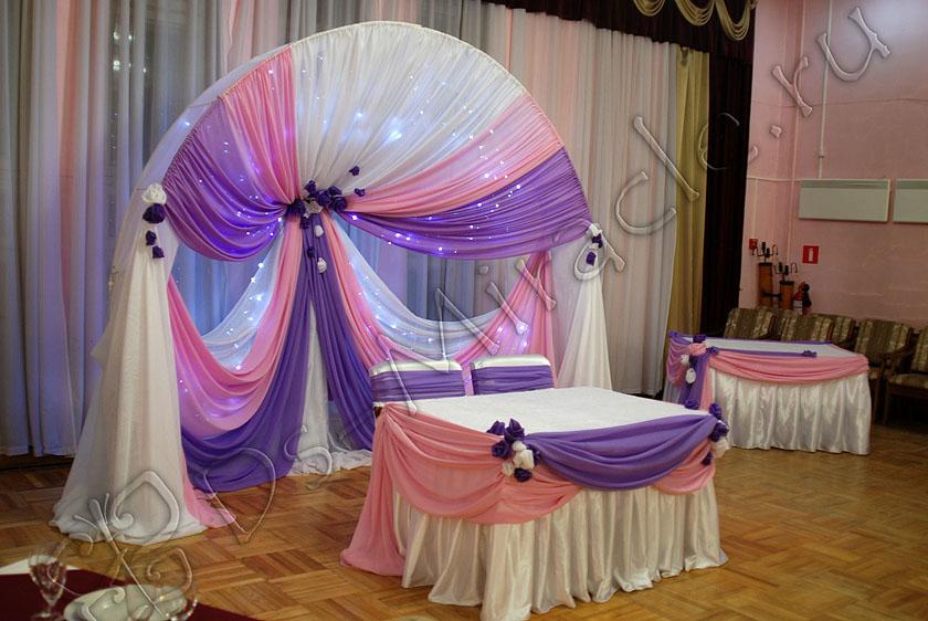 В качестве элементов светового оформления свадьбы мы предлагаем