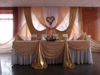 Оформление свадьбы в кафе Факел 07.08.2010