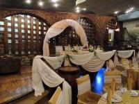 Оформление свадьбы в ресторане Старый замок 30.07.2011