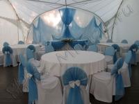 Оформление свадьбы в яхт-клубе Элит Кроус 11.06.2011