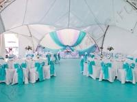 Оформление свадьбы в яхт-клубе Элит Кроус 27.07.2013