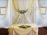 Оформление свадьбы в ресторане Шантиль 21.07.12