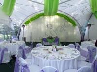 Оформление свадьбы в шатре Брехово 17.09.2011