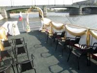 Оформление венчания на теплоходе 05.08.2010