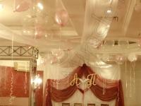 Оформление свадьбы в ресторане PurPur 09.04.2010