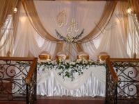 Оформление свадьбы в ресторане на Мичурина 28.08.2010
