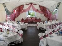 Оформление свадьбы в шатре Пирогово 05.09.2008