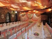 Оформление свадьбы персиковая 18.09.2010