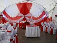 Оформление свадьбы в яхт-клубе Элит Кроус 09.09.2011