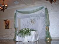Оформление свадьбы в гостинице Radisson Royal 06.11.2010