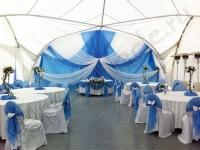 Оформление свадьбы в яхт-клубе Элит Кроус 08.09.2012