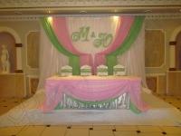 Оформление свадьбы в ресторане Зеленая Роща 27.10.2012