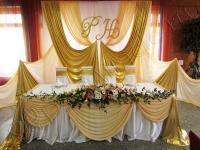 Оформление свадьбы в кафе Факел 29.09.2012