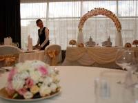 Оформление свадьбы в ресторане Lotte Hotel 08.06.2012
