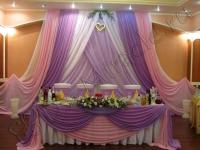 Оформление свадьбы в ресторане Кура 05.08.2011