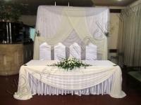 Оформление свадьбы кремовая 18.09.2010