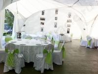 Оформление свадьбы в яхт-клубе Элит Кроус 27.08.2011
