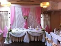 Оформление свадьбы в ресторане G&M 18.08.2012