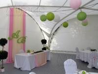 Оформление свадьбы в яхт-клубе Элит Кроус 18.08.2012