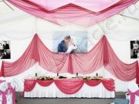 Оформление свадьбы в шатре Валуево 17.07.2007