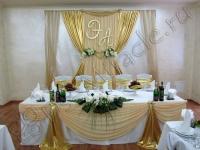 Оформление свадьбы в ресторане Карина 11.06.2010