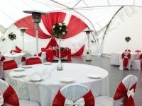 Оформление свадьбы в яхт-клубе Элит Кроус 15.09.2012