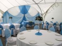 Оформление свадьбы в яхт-клубе Элит Кроус 22.07.2011
