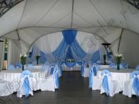 Оформление свадьбы в яхт-клубе Элит Кроус 25.06.2011