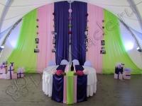 Оформление свадьбы в яхт-клубе Элит Кроус 20.08.2011
