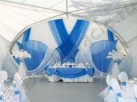 Оформление свадьбы в яхт-клубе Элит Кроус 30.06.2012