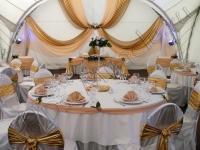 Оформление свадьбы в  яхт-клубе Элит Кроус 03.09.2010