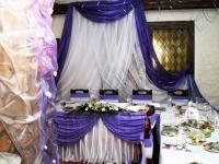 Оформление свадьбы в ресторане Кура 23.07.2007
