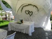 Оформление свадьбы шатер Переделкино 19.06.2010