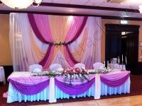 Оформление свадьбы в отеле Марриотт Тверская 21.07.2012