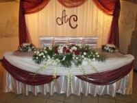 Оформление свадьбы в ресторане Чаша Грааля 08.07.2011